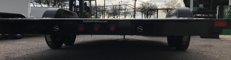 2019 Top Hat Trailers 83x20 ASCH Flatbed Trailer
