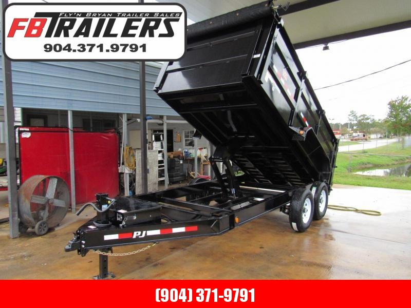 2019 PJ Trailers 7x14 with 4ft High Sides Dump Trailer