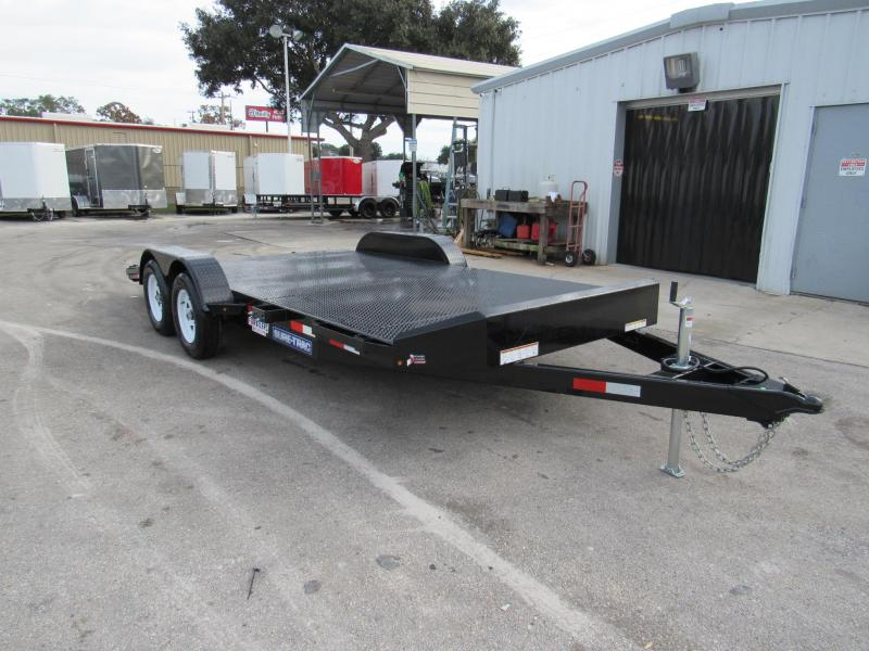 2019 7x18  Steel Deck Open Car Hauler by Sure Trac