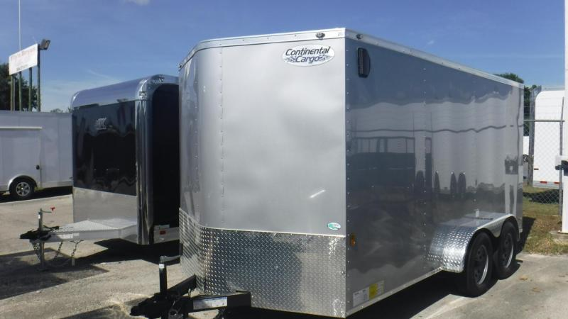 2019 7x14 Enclosed Cargo Trailer by Continental Cargo