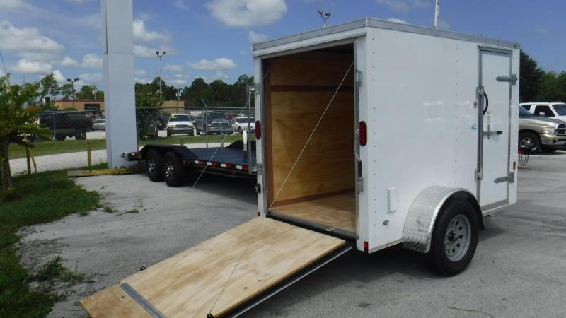 2018 5x8  Enclosed Cargo Traile by Continental Cargo