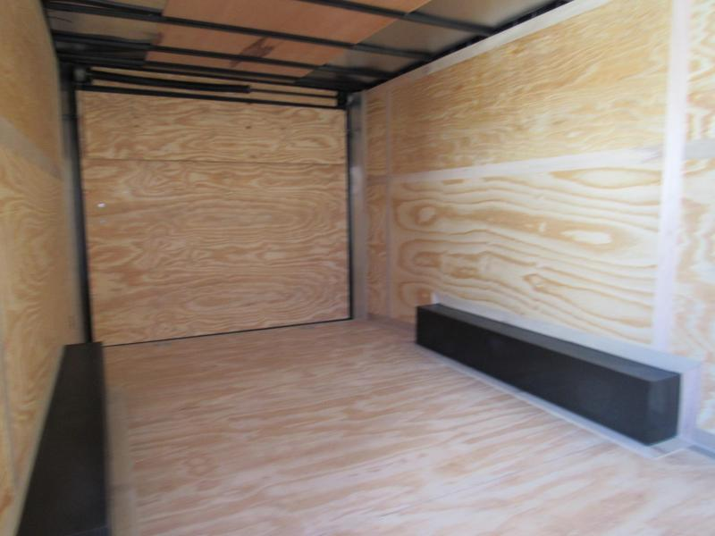 2019 Continental Cargo 8.5x18 5200lb Axles Enclosed Cargo Trailer