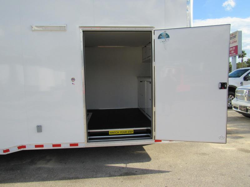 2019 30'  Eliminator Stacker Race Trailer by Cargo Mate