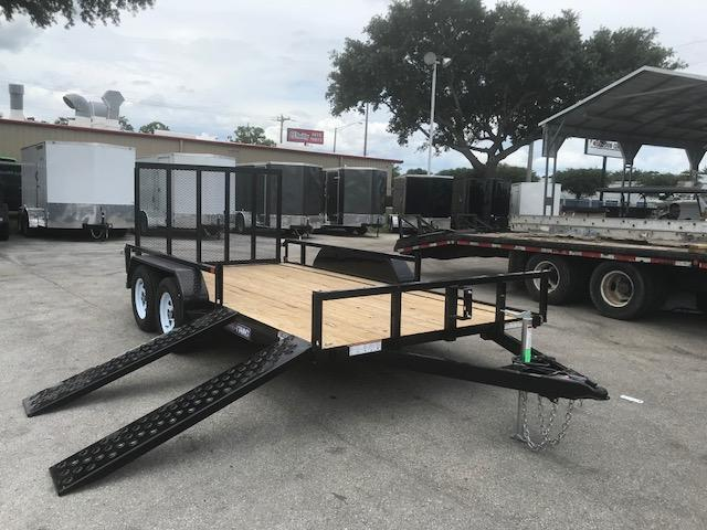 2018 Sure-Trac 7x16 ATV Sides Utility Trailer