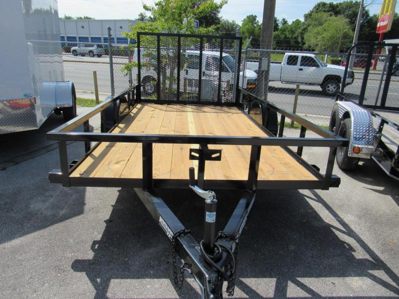 2019 Anderson Manufacturing 6X12 Utility Trailer