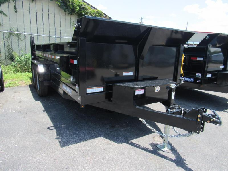 2019 Sure-Trac 82x16 HD Lo Pro Dump Trailer