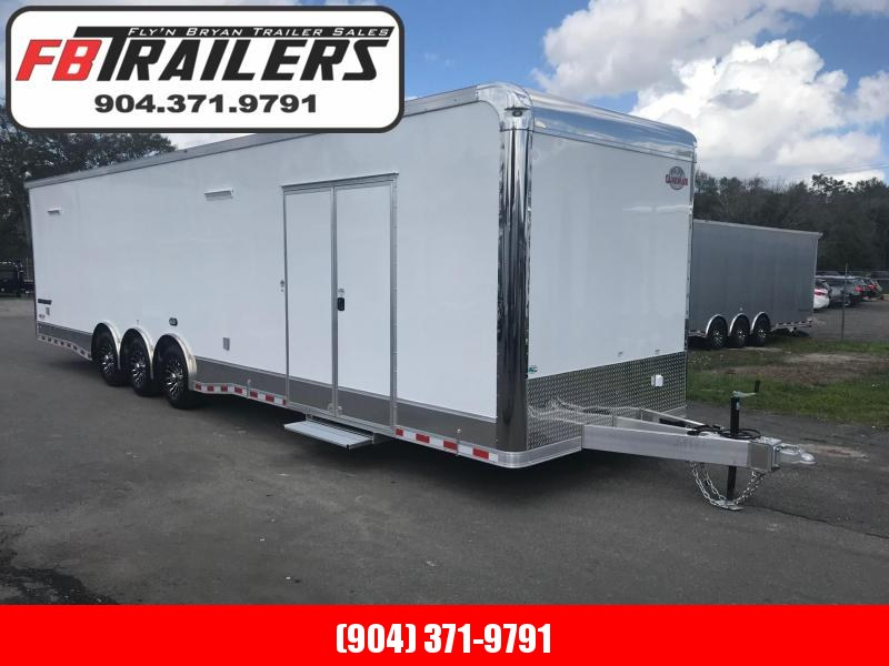 2019 34'  Aluminum Frame LOADED Eliminator Race Trailer by Cargo Mate