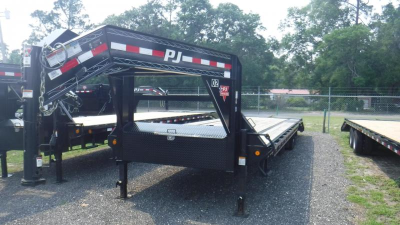 2018  USED   MONSTER RAMPS LS Equipment  Trailer by  PJ Trailers