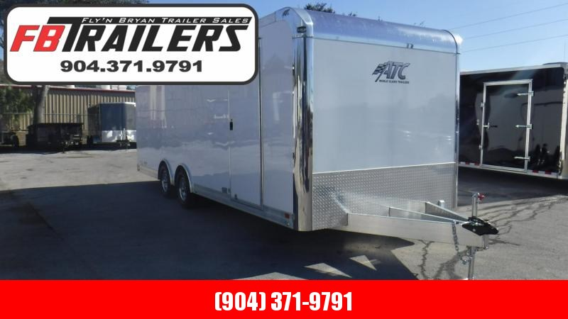 2018  24'Quest 205 Premium Escape Door Car Trailer By ATC