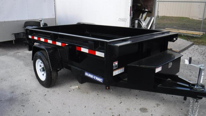 "2018 62""x 8D  Sing;e Axle Dump Trailer by Sure Trac"