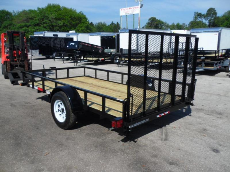 2018 6x12 Land Scape Utility Trailer by Anderson Manufacturing