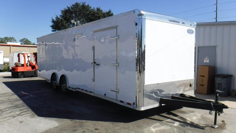 2018 30'Spread Axle RT Plus Race Trailer by Continental Cargo