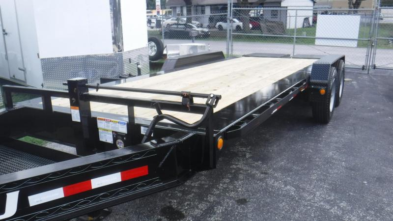 2019 H5 20' PRO BEAM EQUIPMENT TRAILER By PJ Trailers