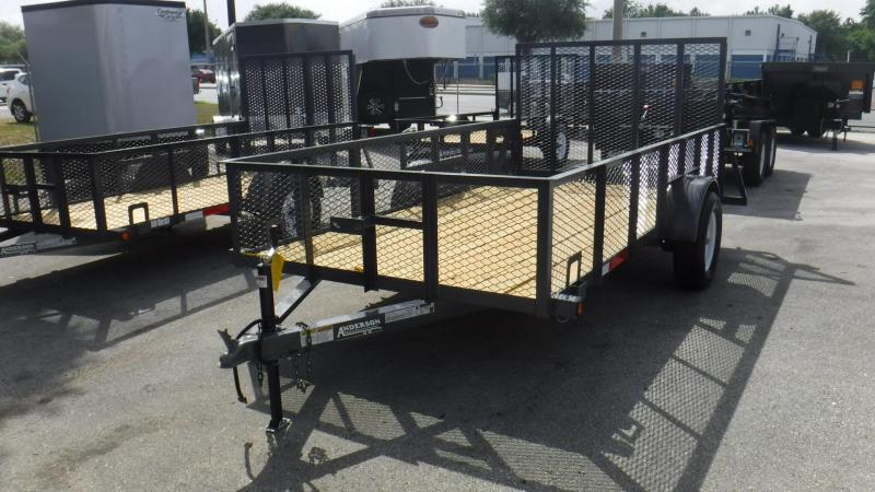 2017 LS 612 Utility Trailer by Anderson Mfg.
