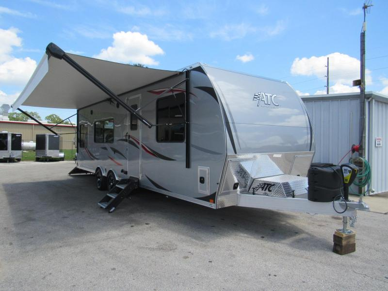 2019 ATC 28' Front Bed Room Toy Hauler by ATC