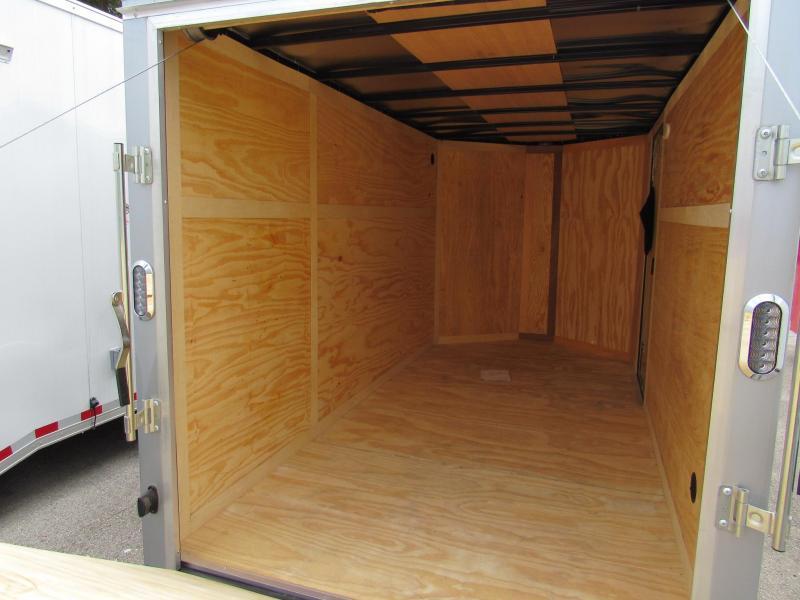 2020 Continental Cargo 6x12 Two Tone Enclosed Cargo Trailer