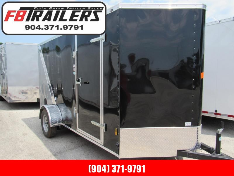 2020 Continental Cargo 6x12 Two Tone Enclosed Cargo Trailer