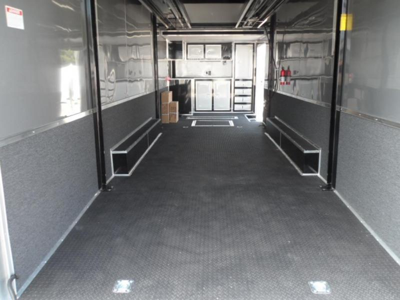 2017 32' Aluminum Spread Axle Eliminator Race Trailer by Cargo Mate