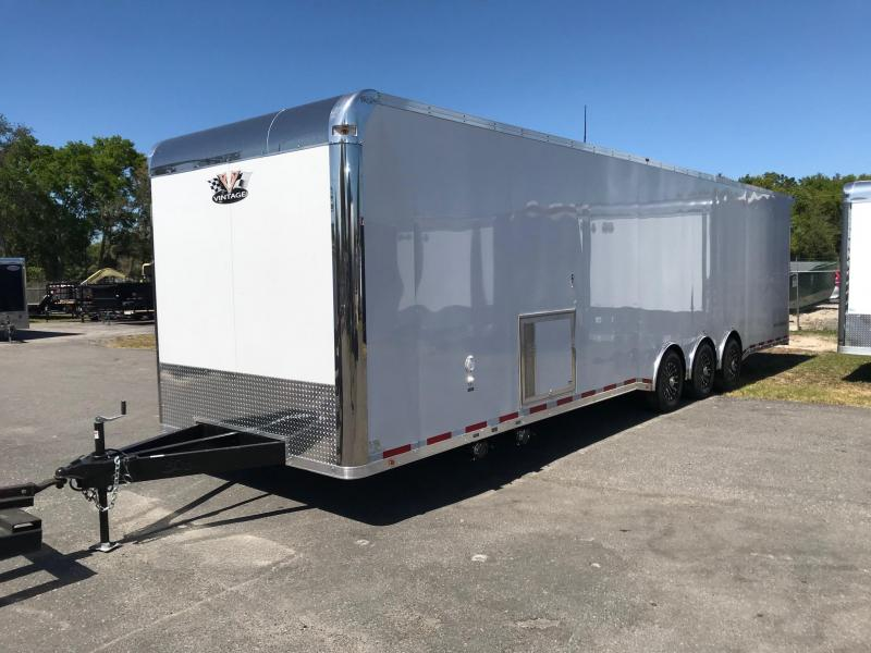 2019  34ft With Bath Package Race Trailer by Vintage Trailers