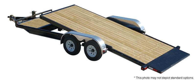 "2018 PJ Trailers 18' x 5"" Channel Tilt Carhauler Trailer"