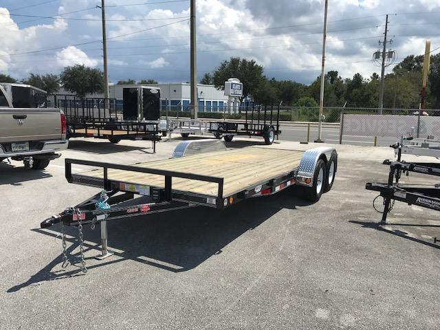 2018 18' Open Car Hauler by PJ Trailers