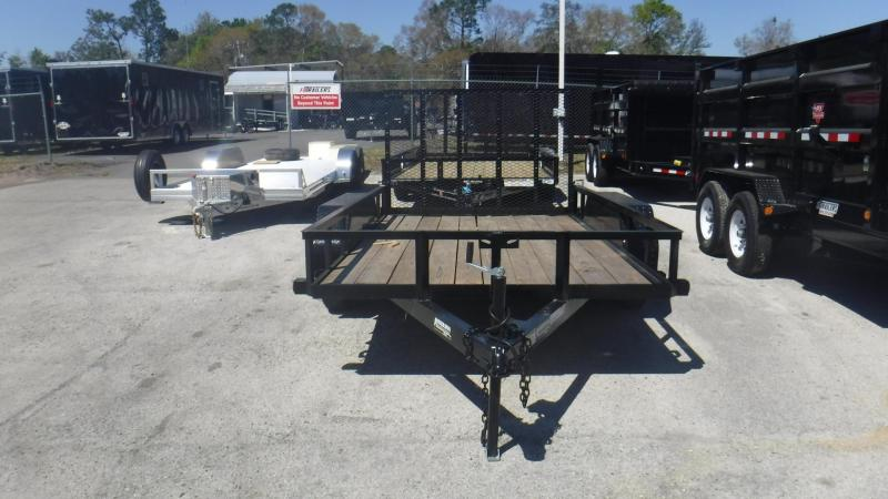 2018 Anderson Manufacturing 6x12 Tandem Utility Trailer