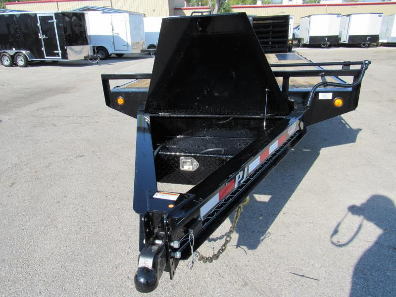 2020 PJ Trailers 20 ft with Monster Ramps Equipment Trailer
