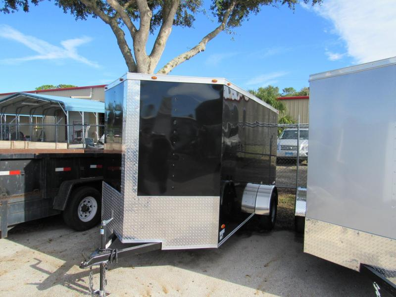 2019 Freedom Trailers 6x12 Enclosed Cargo Trailer