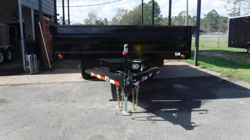 2018  8x14  Deck Over Dump by PJ Trailers