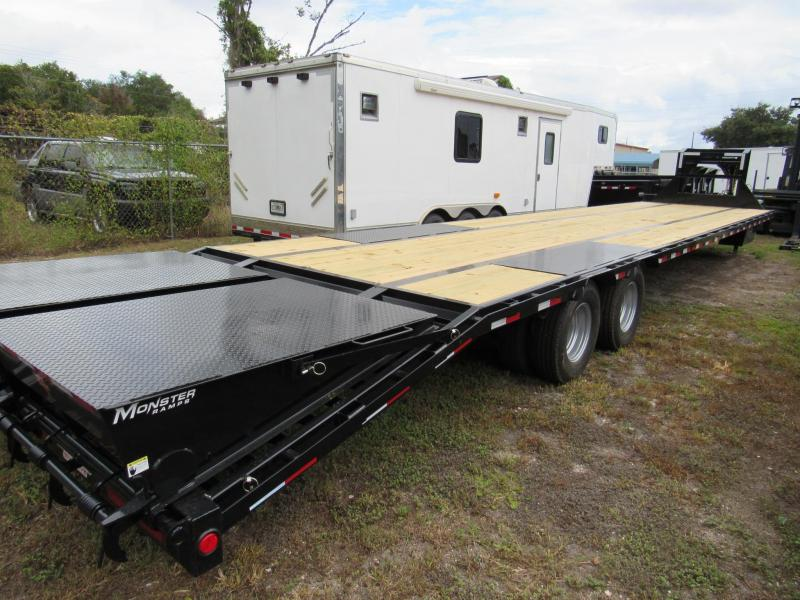 2019 40' Equipment Trailer by PJ Trailers 35 plus 5 Monster Ramps