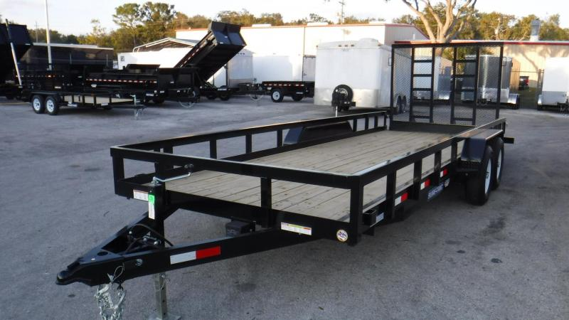 2018 7x20 Sure-Trac Equipment Trailer