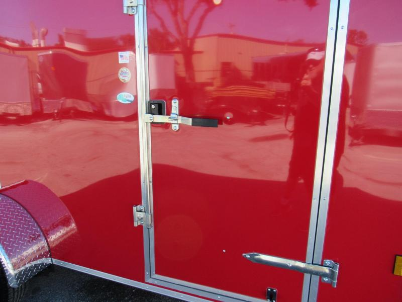 2019 Continental Cargo 6x12 Ramp Door Enclosed Cargo Trailer
