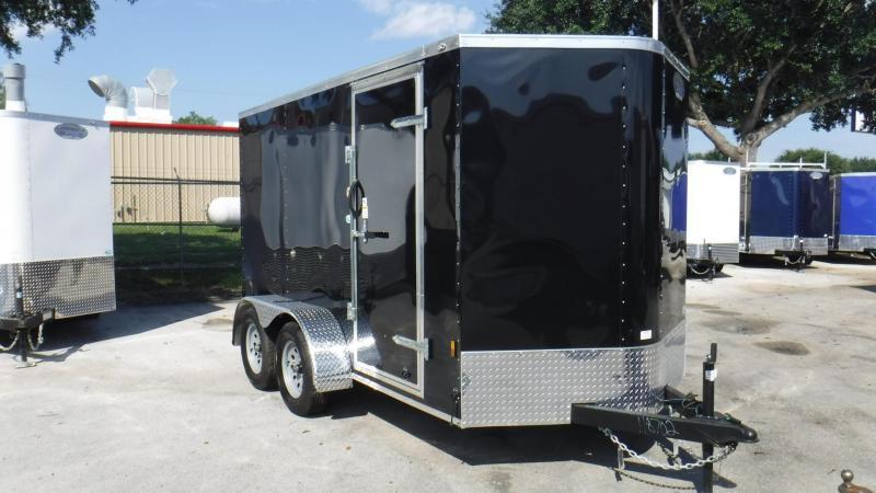 2018 6x12 Tandem Axle Enclosed Cargo Trailer by Continental Cargo