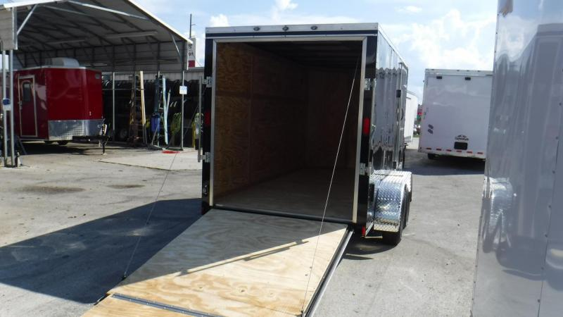 2018 6x12 Tandem Axle Enclosed Cargo Trailer by Continental Cargo