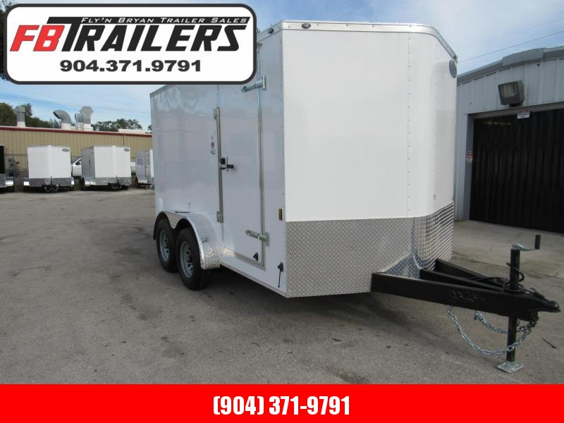 2020 Continental Cargo 7X12 HD 5200lb Axles Enclosed Cargo Trailer