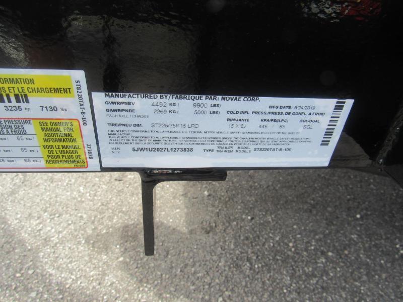 2020 Sure-Trac 20ft HD Contractors Grade Utility Trailer