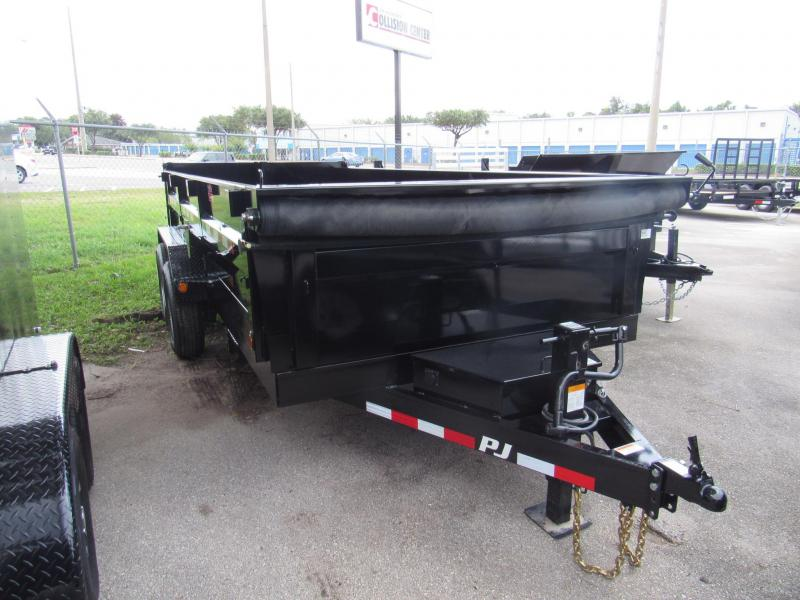 2019 PJ 16ft Dump Trailer