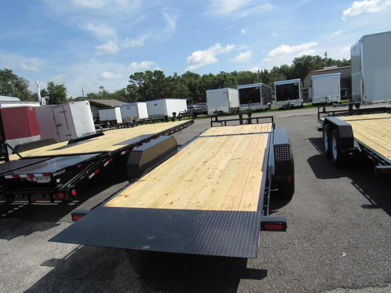 2019 PJ 22' Equipment Trailer 16' TILT 6' STATIONARY