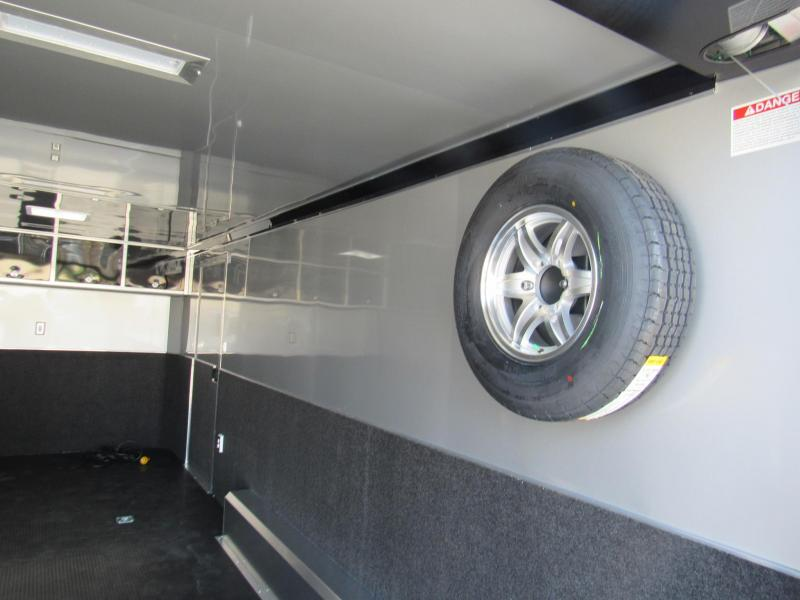 2019 ATC 20 ft Spread Axles with Premium Escape Door Car / Racing Trailer