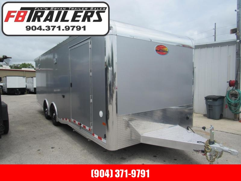 2020 24' All Aluminum Race Trailer by Sundowner Trailers with Premium Escape Door Enclosed Cargo Trailer