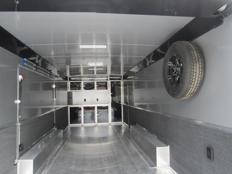 2020 24' All Aluminum Race Trailer by Sundowner Trailers with Premium Escape Door