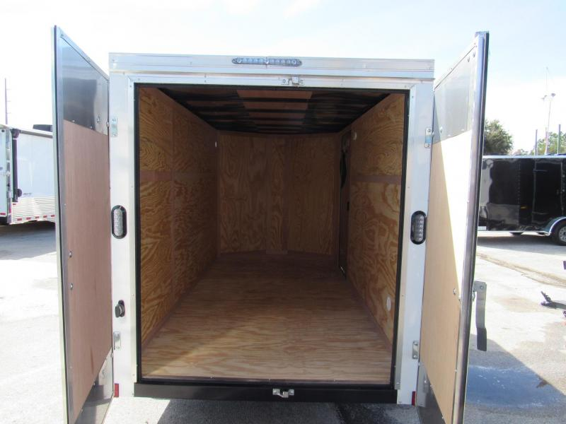 2019 Continental Cargo 6X12 Double Doors Enclosed Cargo Trailer