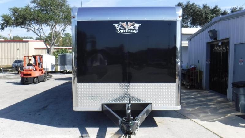 2018 32' Spread Axle Pro Stock Car Trailer by Vintage Trailers