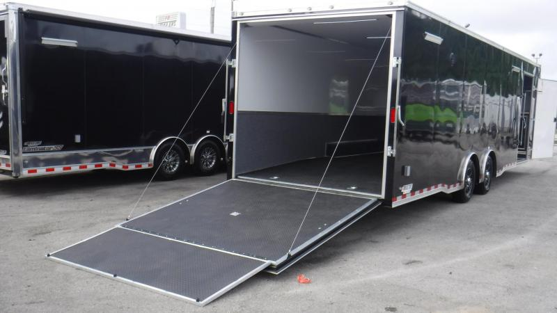 2018 30' Spread Axle Race Trailer by Continental Cargo