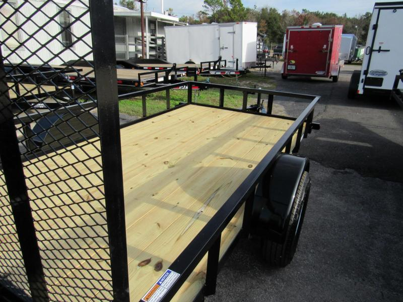 2020 Anderson Manufacturing 6X12 HD Square Tube Top Utility Trailer