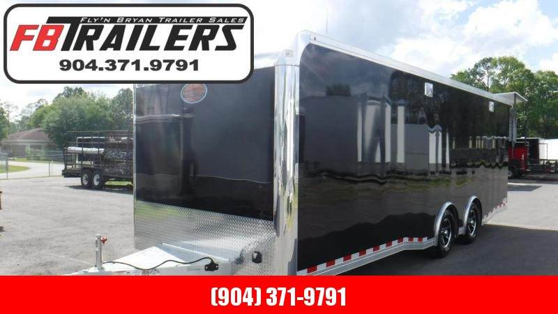 2019 24' ALL ALUMINUM Spread Axle Race Trailer by Sundowner
