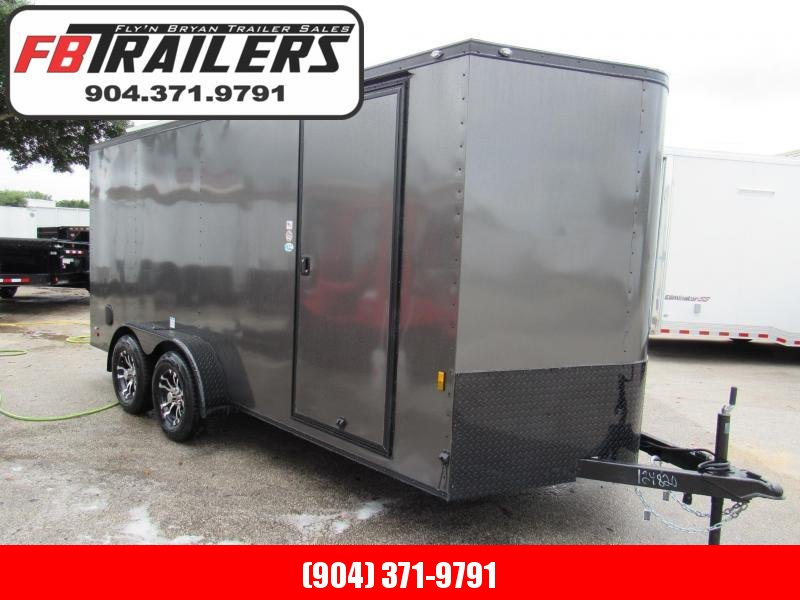 2020 Continental Cargo 7x16 Black Out Enclosed Cargo Trailer
