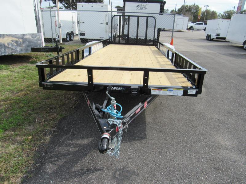 2019 PJ Trailers 20 ft with ATV Sides Utility Trailer