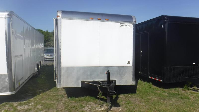2008  30' Haulmark Edge Race Trailer