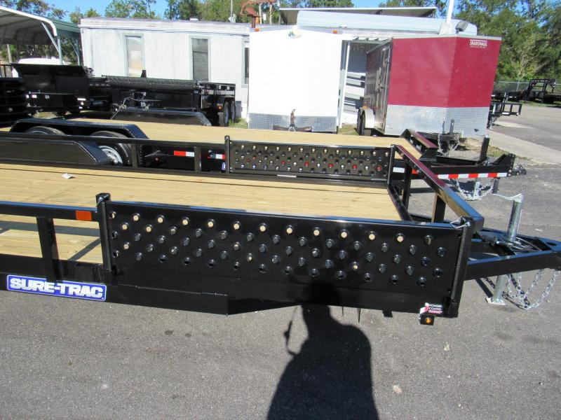 2019 Sure-Trac 7X20 ATV Sides Utility Trailer
